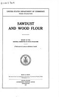 Sawdust and Wood Flour PDF