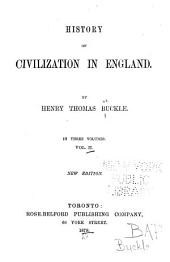 History of Civilization in England: Volume 2