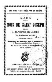 Mois de Saint Joseph: mars selon S. Alphonse de Liguori