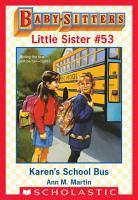 Karen s School Bus  Baby Sitters Little Sister  53  PDF