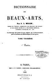 Dictionnaire des beaux-arts: Volume1,Partie1