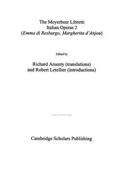 The Meyerbeer Libretti  Italian operas 2 PDF