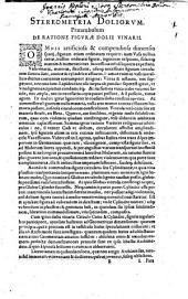 Nova stereometria doliorvm vinariorvm: in primis Austriaci, figurae omnium aptissimae; et usus in eo virgae cubicae compendiosissimus & plane singularis. Accissit Stereometriae Archimedeae supplementum