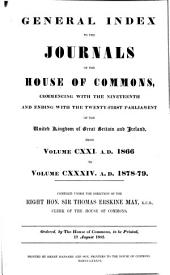 Journals of the House of Commons: Volumes 121-134