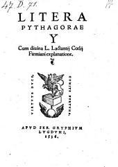 Litera Pythagorae Y cum explanatione