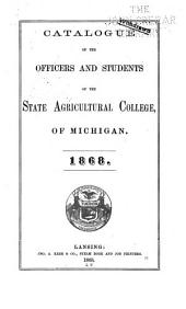 Bulletin of Michigan State College of Agriculture and Applied Science: Catalog number