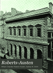 Roberts-Austen: a record of his work. Being a selection of the addresses and metallurgical papers, together with an account of the researches of Sir William Chandler Roberts-Austen. Memorial volume