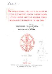 Die Darstellungen der Biblia Pauperum in einer Handschrift des XIV. Jahrhunderts, aufbewahrt im Stifte St. Florian im Erzherzogthume Österreich ob der Enns: mit 34 Tafeln