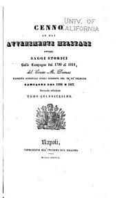 Cenno su gli avvenimenti militari, ovvero Saggi storici sulle campagne dal 1799 al 1814: Volumi 15-16
