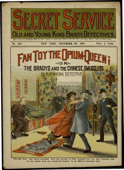 Fan Toy the Opium Queen  Or  The Bradys and the Chinese Smugglers PDF
