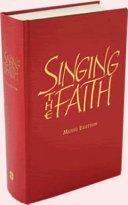 Singing the Faith: Large Print Words Edition