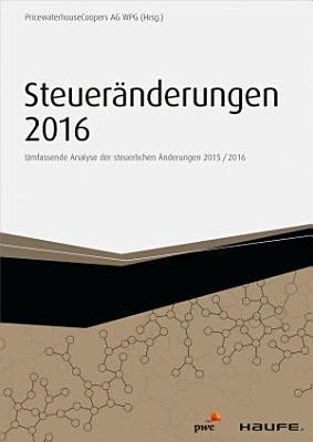 Steuer  nderungen 2016 PDF