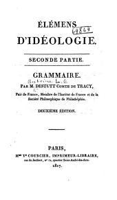 Élémens d'idéologie: Volume1