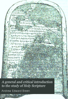 A General and Critical Introduction to the Study of Holy Scripture PDF