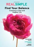 REAL SIMPLE Find Your Balance PDF