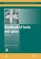 Handbook of Herbs and Spices: Volume 3