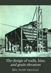 The design of walls, bins, and grain elevators