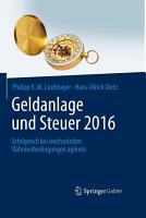 Geldanlage und Steuer 2016 PDF