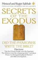 Secrets of the Exodus Book