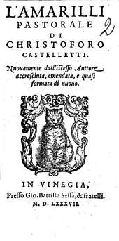 L' Amarilli pastorale di Christoforo Castelletti