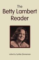 The Betty Lambert Reader PDF