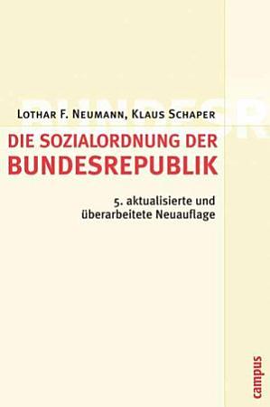 Die Sozialordnung der Bundesrepublik Deutschland PDF