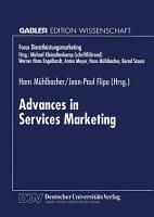 Advances in Services Marketing PDF