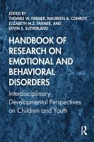 Handbook of Research on Emotional and Behavioral Disorders PDF