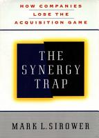 The Synergy Trap PDF