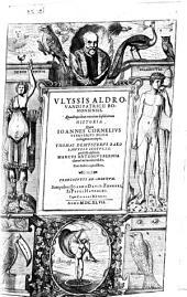 Vlyssis Aldrovandi [...] Quadrupedum omnium bisulcorum historia