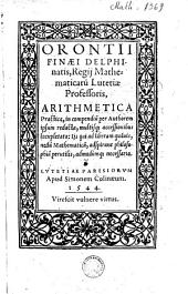 Arithmetica practica: in compendium per authorem ipsum redacta...