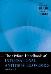 The Oxford Handbook of International Antitrust Economics PDF