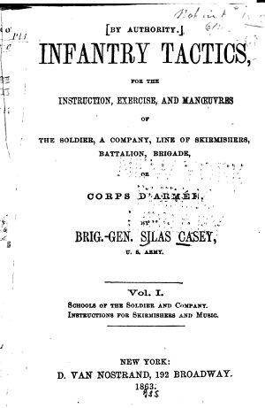 Schools of the soldier and company  Instructions for skirmishes and music