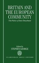 Britain and the European Community PDF