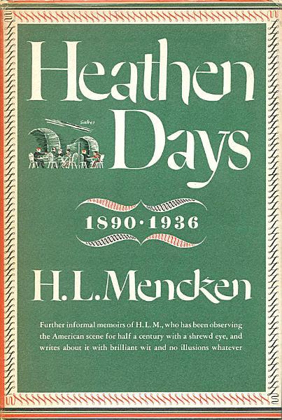 Download Heathen Days Book