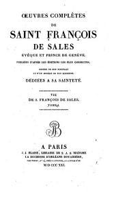 Vie de saint François de Sales, par Marsollier. 2v