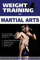 Weight Training for Martial Arts PDF