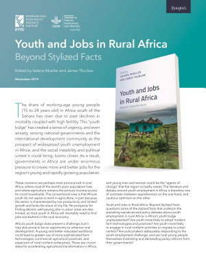 Youth and jobs in rural Africa  Beyond stylized facts  Synopsis