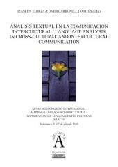 Análisis textual en la comunicación intercultural = Language analysis in cross-cultural and intercultural communication