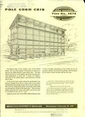 Pole corn crib: Volumes 839-847