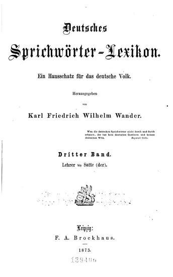 Bd  Lehrer bis Satte  der  PDF
