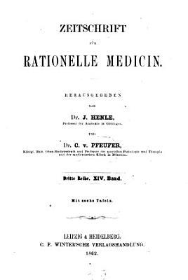 Zeitschrift f  r rationelle Medicin PDF