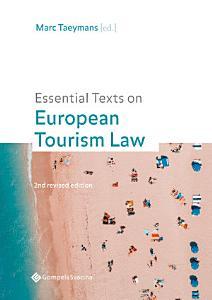 Essential Texts on European Tourism Law PDF