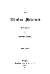Ein Müncher Dichterbuch