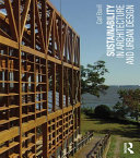 Sustainability in Architecture and Urban Design