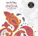 Vive Le Color: India (Coloring Book)