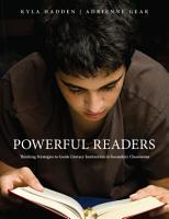 Powerful Readers PDF