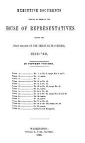 House Documents: Volume 126; Volume 128