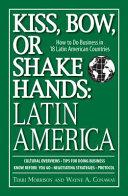 Kiss  Bow  Or Shake Hands  Latin America PDF