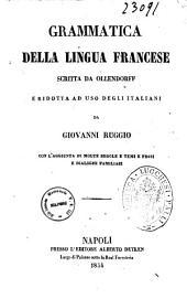 Grammatica della lingua francese scritta da Ollendorff